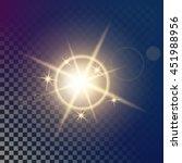 creative vector of glow light...