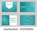 modern business card design... | Shutterstock .eps vector #451992850