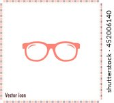 vector illustration glasses | Shutterstock .eps vector #452006140