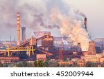 industrial landscape in ukraine....