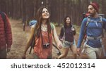 Small photo of Camp Forest Adventure Travel Relax Concept