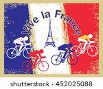 vector tour cycling... | Shutterstock .eps vector #452025088