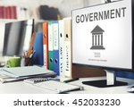 government administration... | Shutterstock . vector #452033230