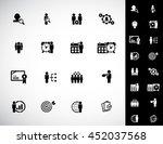 business management  strategy... | Shutterstock .eps vector #452037568