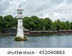 Small photo of CARDIFF, WALES - JULY 10 : Lighthouse in Roath Park commemorating Captain Scotts ill-fated voyage to the Antartic in Cardiff on July 10, 2016