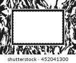 grunge abstract background with ... | Shutterstock .eps vector #452041300