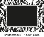 grunge abstract background with ... | Shutterstock .eps vector #452041306