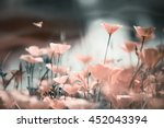Gentle Floral Background With...
