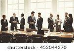 business group meeting... | Shutterstock . vector #452044270