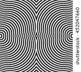 circular  radiating lines ... | Shutterstock .eps vector #452047660