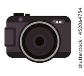 flat design photographic camera ...