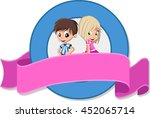 vector banners and labels... | Shutterstock .eps vector #452065714