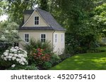 a charming playhouse cottage... | Shutterstock . vector #452075410