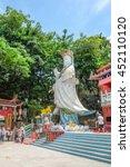 repulse bay   hong kong   july1 ... | Shutterstock . vector #452110120