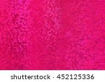 Bright Abstract Mosaic Pink...