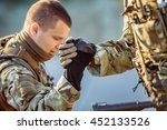 command rangers during the... | Shutterstock . vector #452133526