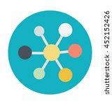 atom vector icon | Shutterstock .eps vector #452152426