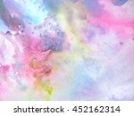 hand painted dynamic texture in ... | Shutterstock . vector #452162314
