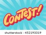 contest banner.   Shutterstock .eps vector #452193319