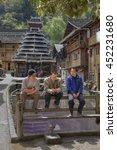 Zhaoxing Dong Village  Guizhou...