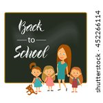 vector illustration. greeting... | Shutterstock .eps vector #452266114