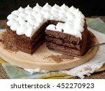 Truffle Chocolate Cake With...