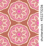 hand drawn seamless pattern... | Shutterstock .eps vector #452273236