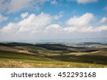 sunny landscape in the mountains | Shutterstock . vector #452293168