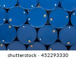 blue steel chemical tanks or... | Shutterstock . vector #452293330