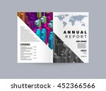 business abstract template... | Shutterstock .eps vector #452366566