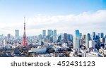 tokyo tower  landmark of japan   Shutterstock . vector #452431123