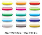 twelve brightly coloured... | Shutterstock .eps vector #45244111