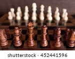 chess photographed on a... | Shutterstock . vector #452441596