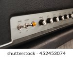 amplifier knobs and toggle... | Shutterstock . vector #452453074