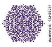 vector illustration  outline ... | Shutterstock .eps vector #452459299