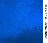 blue metallic foil    Shutterstock . vector #452476546