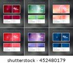 vector abstract brochure design ... | Shutterstock .eps vector #452480179
