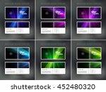 vector abstract brochure design ... | Shutterstock .eps vector #452480320