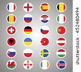flags of european countries.... | Shutterstock .eps vector #452480494