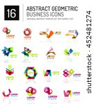 abstract geometric business... | Shutterstock . vector #452481274