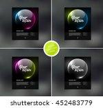 vector flyer design templates... | Shutterstock .eps vector #452483779