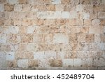 Old Stone Wall Background....