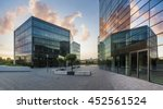 modern office building in the... | Shutterstock . vector #452561524