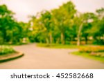 abstract blur city park bokeh... | Shutterstock . vector #452582668