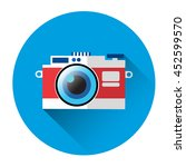 photo camera icon photography... | Shutterstock .eps vector #452599570
