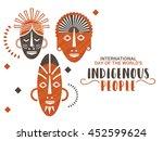 creative illustration banner or ... | Shutterstock .eps vector #452599624