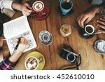 Stock photo coffee shop cafe drinking friendship togetherness concept 452610010