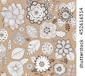 vector flower pattern. colorful ...