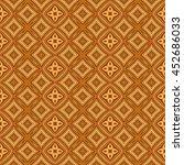 abstract decorative gold orange ... | Shutterstock . vector #452686033