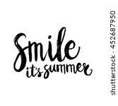 conceptual hand drawn phrase... | Shutterstock .eps vector #452687950